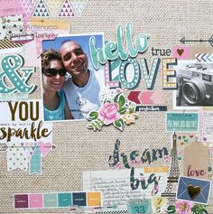 Layouts with So Fancy | Simple Stories