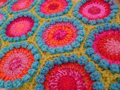 Ravelry: Bobble Hexagon by Sue Pinner