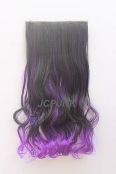 Details About 60Colors One Piece Colorful Hair Extensions Curly Straight 5clips