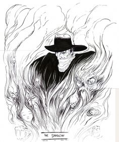 Dave Taylor - The Shadow Commission Comic Art