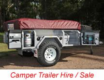 Johnno's camper trailers for hire & sale Sydney city south | Sydney camper trailer