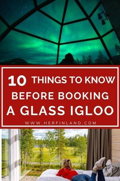 Northern lights are just one of the things you may see during your glass igloo stay in Finland. Check out the top 5 glass igloos in Finland and what you should do before booking your stay! #glassigloos #lapland Glass Igloo Northern Lights, Northern Lights Finland, See The Northern Lights, Glass Igloo Finland, Finland Destinations, Finland Travel, Lapland Finland, Lake Beach, Travel Things