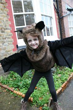 Fledermaus Kostüm selber machen   Kostüm Idee zu Karneval, Halloween & Fasching