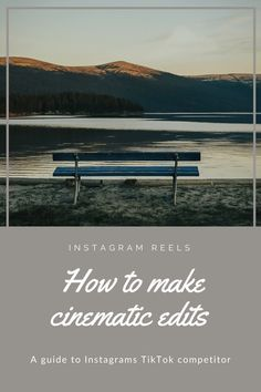 Instagram Reels - how to make cinematic edits - Tonje Lilleås Find A Song, Add Music, Public Profile, Instagram Handle, Family Adventure, Video Editing, How To Run Longer, Videography, Instagram Users