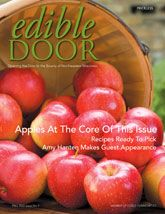 Edible Door magazine. Yes, the name may seem odd to many, but it's perfect if you know #Door County, #Wisconsin.