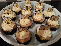 Pudsey cakes for children in need!