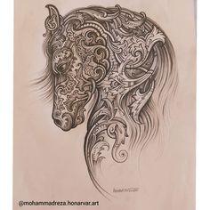 "580 Beğenme, 24 Yorum - Instagram'da Mohammad Reza Honarvar (@mohammadreza.honarvar.art): ""#mohammadreza_honarvar #Tezhip #Tazhib #Art #muzahheb #diseñador_de_alfombras #Artista #Diseñador…"" Iranian Art, Persian, Diy And Crafts, Lion Sculpture, Statue, Wallpaper, Painting, Instagram, Embroidery Ideas"