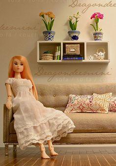 sofa 1:6th Scale