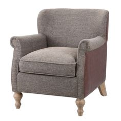 Found it at Wayfair - Madison Park Luther Turned Leg Club Chair