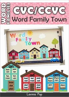 spell words with letters free printable word families house pack spelling 497