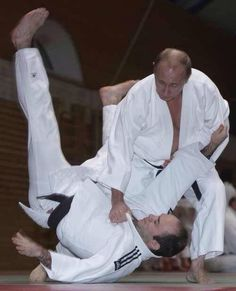One of Putin's favorite sports is the martial art of judo. Putin co-authored a book on his favorite sport, published in Russian as Judo with Vladimir Putin and in English under the title Judo: History, Theory, Practice. Currently, Putin holds a Vladimir Putin, John Kerry, President Of Russia, Budapest, Ukraine, Premier Ministre, Steven Seagal, Poutine, Gary Oldman
