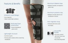 40a66d4f40 Donjoy IMMO AT43V Tri Panel Knee Immobilizer - for pre-post op use. Has