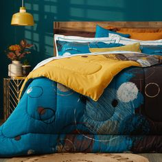 Give your bedroom that ethnic-chic feel this winter with the warm and bohemian Jude 6-piece bedding collection. 🧡💚💙 These chic designs are exclusive to homechoice and are printed on premium polycotton so these bedding sets feel as wonderful as they look! What's more, the Jude collection is reversible and offers versatility with its 4 different colour combinations! 😃 Ethnic Chic, Colour Combinations, Bedding Collections, Bedding Sets, Comforters, Bohemian, Warm, Blanket, Bedroom