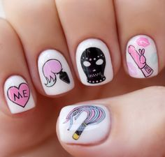 Ready to get freaky with the redesigned Valentine's Bae decals Nailpopllc.com/shop