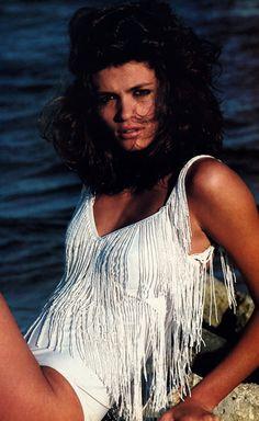 Gia Carangi, Vogue November 1980 #MakeWaves