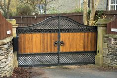 Bespoke Metal Gates Design | Custom Iron Driveway Gates