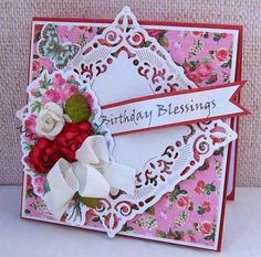 Best of Betsy's: Using Spellbinders Adorning Squares