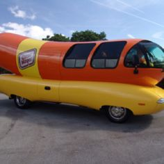 Oscar Mayer Weinermobile - Helped them with directions in Ohio in about '74 - a very tall guy and a very small man - how fun to see inside