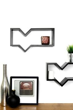 $29 Quote Shelf - Black by Functional Wall Decor by Nexxt on @HauteLook
