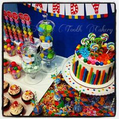 Candyland tablescape