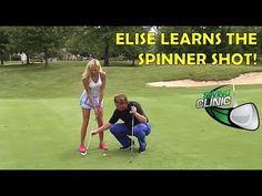 Swing Clinic: Elise Lobb Learns the Spinner Shot - YouTube
