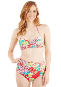 6961f1bf2b17e A Splashing Success Swimsuit Bottom in Red. Your poolside style always  earns rave reviews -