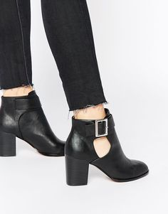ASOS | ASOS EVERSLEIGH Cut Out Ankle Boots at ASOS