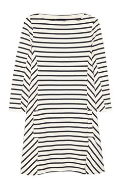 A stripe dress you can wear all year round. For Fall pair with black opaque tights, booties and layer a jacket or scarf. And for the summer a cute pair of colorful sandals..