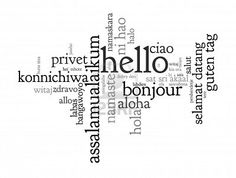 how to say hello in different languages youtube
