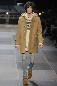 Saint Laurent Men's RTW Fall 2013 - Slideshow - Runway, Fashion Week, Reviews and Slideshows - WWD.com
