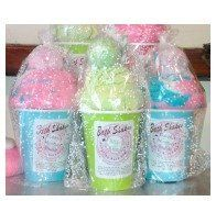 Bath Bomb Shake by The Soap Box Shop. $14.99. bath bomb, bath shake. Truffle top, moisturizing bath scoop and bubble bar in one!  good for 3 baths!  A great gift for the bath bomb lover!