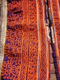 Embroided Afghan Vintage Tribal Zazi Textile by KulshiMumkin, $30.00