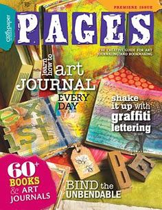 The premiere special issue features projects and galleries in general bookmaking, book covers, book binding, inside page decoration, and art journaling.