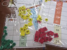 Classroom Freebies: 10 More and 10 Less Math Center