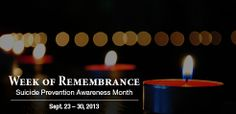 Join the Week of Remembrance at https://www.facebook.com/events/173215619533763/