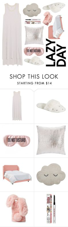 """lazy day"" by majafashionlover on Polyvore featuring DKNY, PBteen, BaubleBar, Kylie Minogue at Home, Bloomingville, Ashlyn'd and Benefit"
