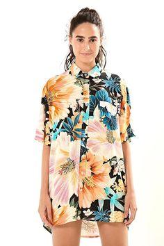 dc77ba7f4b 72 melhores imagens de camisa floral