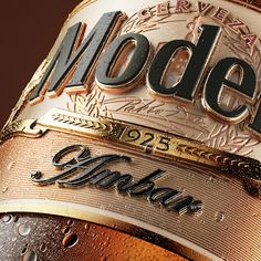 - Cerveza Modelo - World Brand Design Design 3d, Label Design, Packaging Design, Branding Design, Logo Design, Graphic Design, Text Design, Flyer Design, 3d Typography