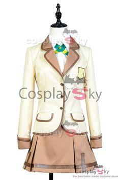 Active Raid Hinata Yamabuki Uniform Cosplay Costume_1