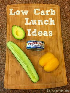 Low Carb lunch ideas that are simple to do and really delicious! My whole family loves these and they're easy on the go meals too packed with protein. AD