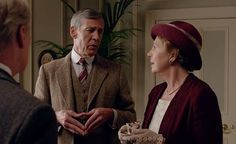 downton abbey season 5: Lord Merton courts Isobel