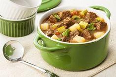 Sopa de coxão duro com legumes