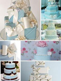 Tiffany Blue Cakes