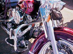 Purple Bike - Tom Blackwell