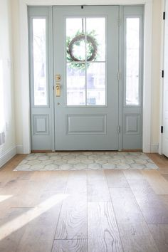 If you are looking for Modern Farmhouse Flooring Woods Design Ideas, You come to the right place. Below are the Modern Farmhouse Flooring . Home Renovation, Home Remodeling, Entryway Flooring, Farmhouse Flooring, Entry Way Tile, Entryway Tile Floor, Living Room Flooring, Entry Foyer, Farmhouse Decor