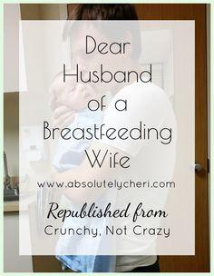 dear husband breastfeeding wife