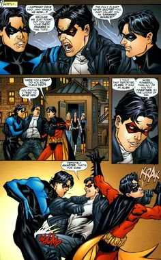 Teen Titans #47... Siblings.. they just can't get along all the time.