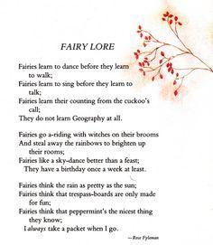 fairy poem - Google Search