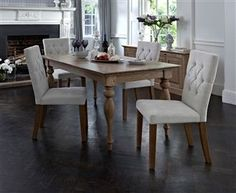 Buy Clifton Extending Dining Table from the Next UK online shop Extendable Dining Table, Dining Tables, Dining Rooms, Lounge Decor, Table Legs, First Home, Sweet Home, House Styles, Interior