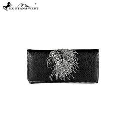 Montana West Native American Secretary Style Wallet